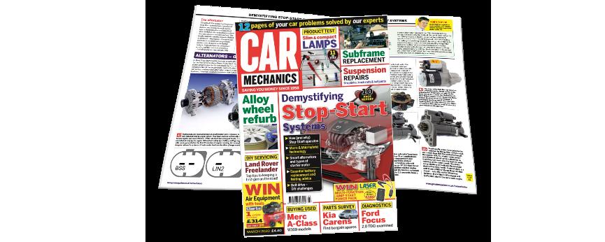 Autoelectro featured in Car Mechanics Magazine