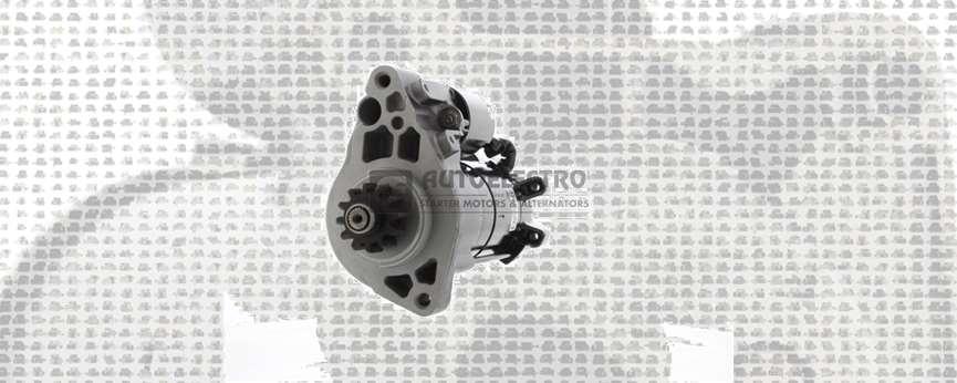 NEW TO RANGE - AEX1393 - STARTER MOTOR