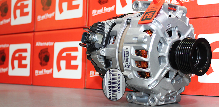 Autoelectro Remanufactures Its One Millionth Starter Motor and Alternator