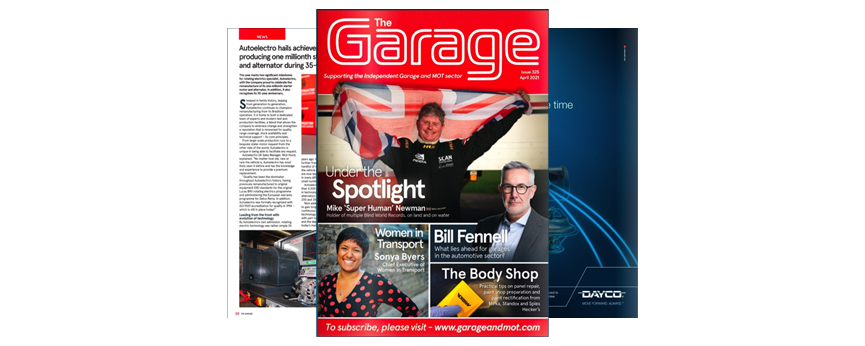 Autoelectro Featured in April Issue of The Garage Magazine
