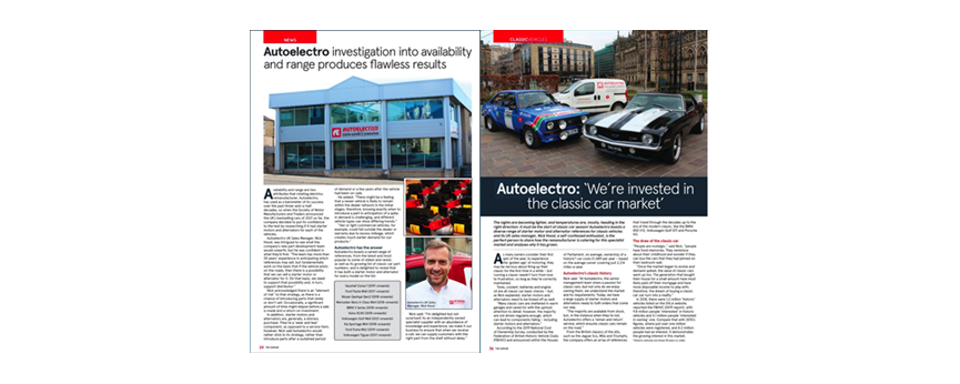 "Autoelectro: ""We're Invested In The Classic Car Market"""