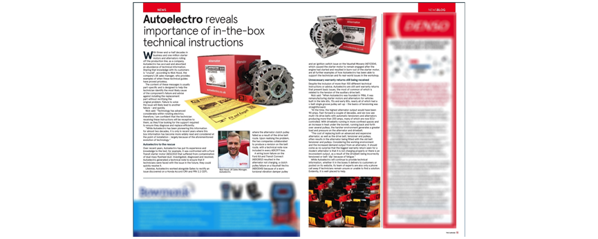 Autoelectro Reveals Importance Of In-The-Box Instructions